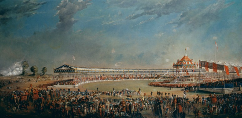 Delhi Durbar, celebration on the occasion of Queen Victoria becoming Empress of India, 1877